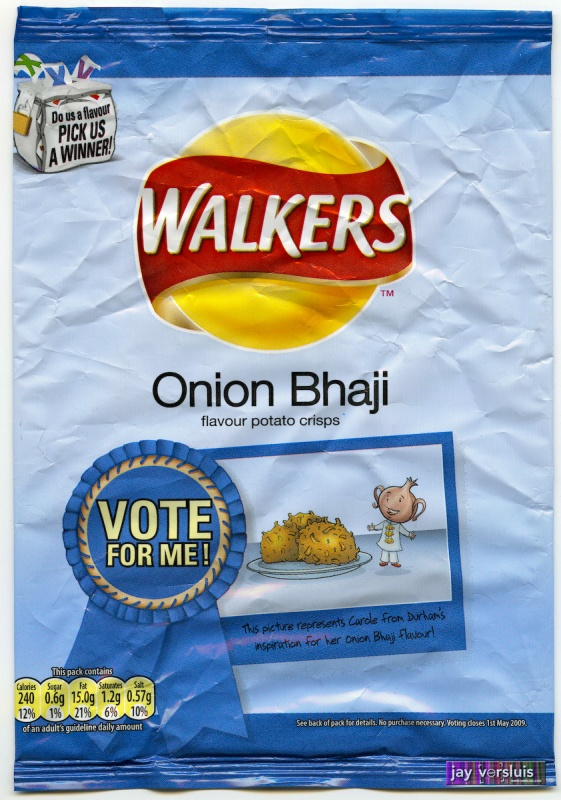 Walker's Onion Bhaji (2009)