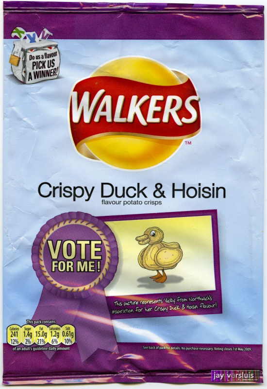 Walker's Crispy Duck & Hoisin (2009)