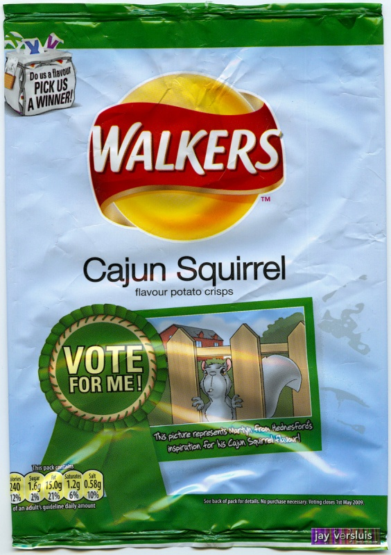 Walker's Cajun Squirrel (2009)