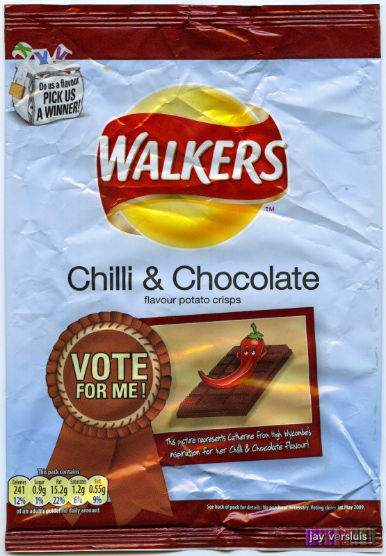 Walker's Chilli Chocolate (2009)