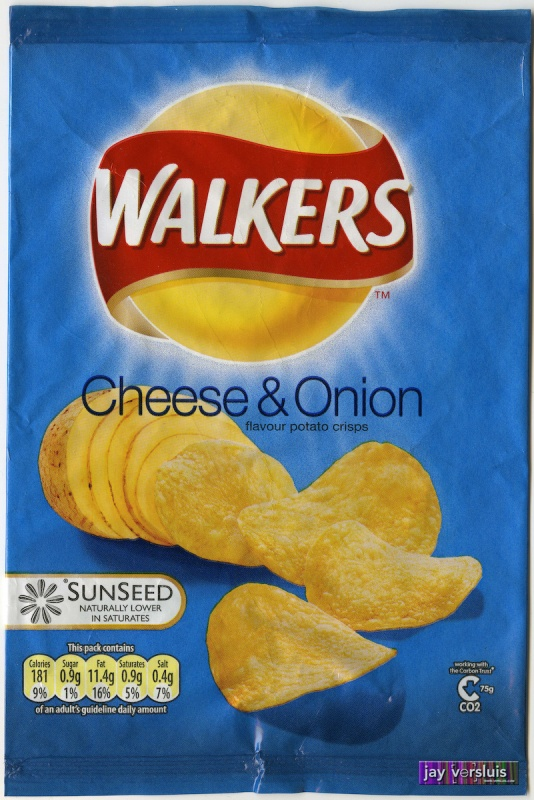 Walker's Cheese & Onion (2007)