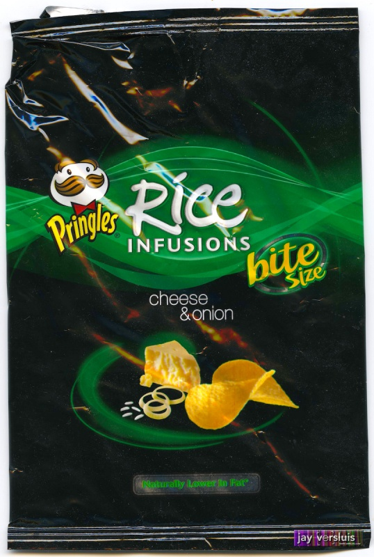 Pringles Rice Infusion: Cheese and Onion Flavour (2009)