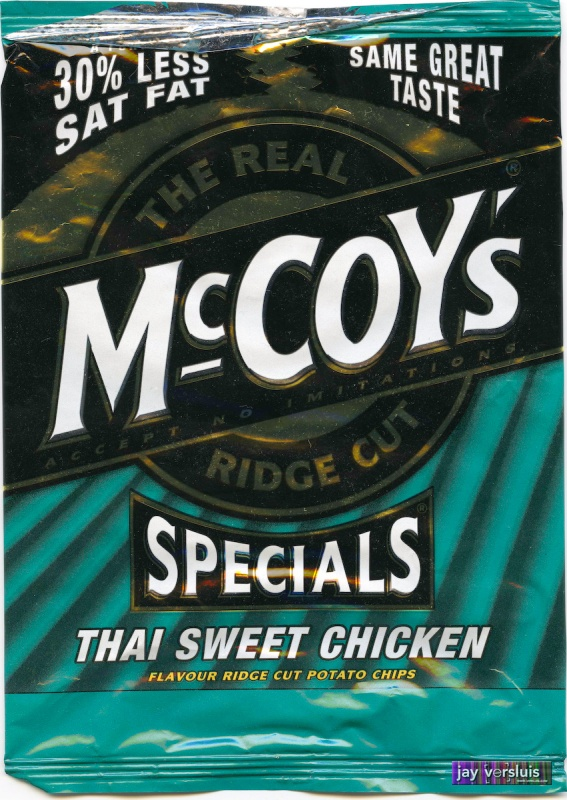 McCoy's Thai Sweet Chicken Flavour (2009)