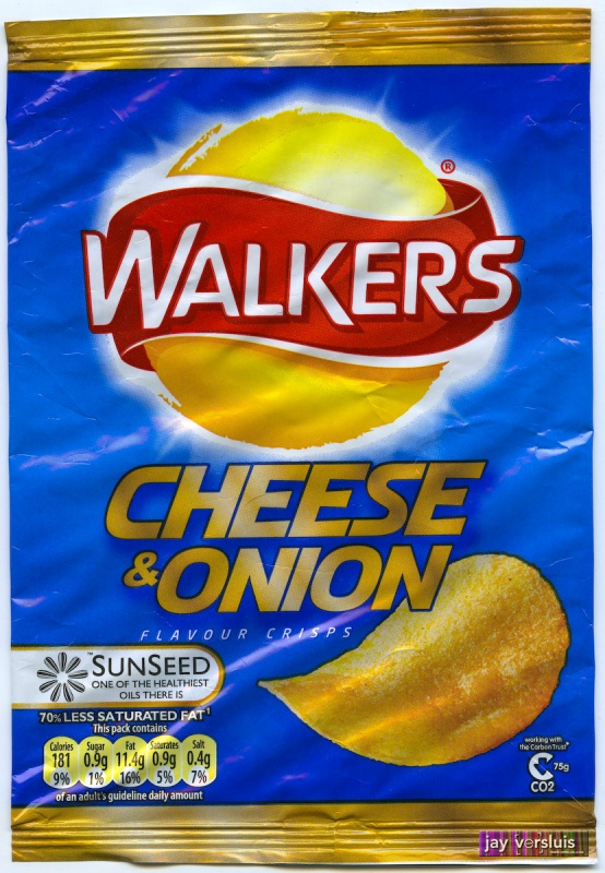 Walker's Cheese and Onion (2007)