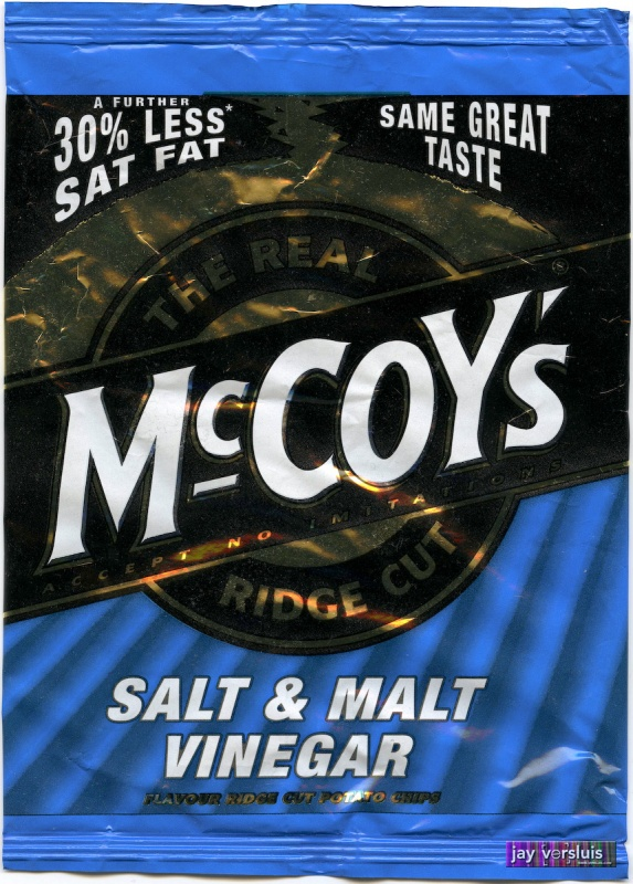 McCoy's Salt and Malt Vinegar (2009