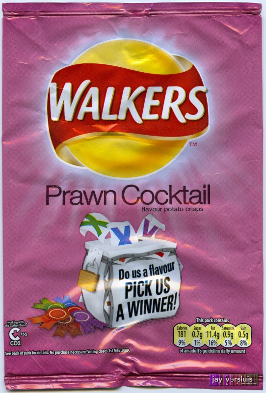 "Walker's Prawn Cocktail ""Do us a Flavour"" Edition (2009)"