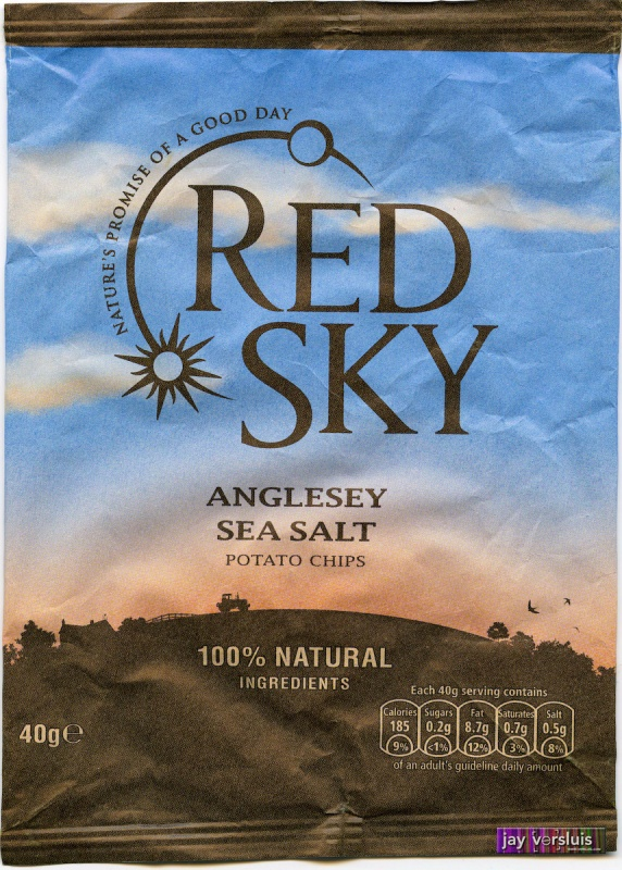 Red Sky - Anglesey Sea Salt Chips (2009)