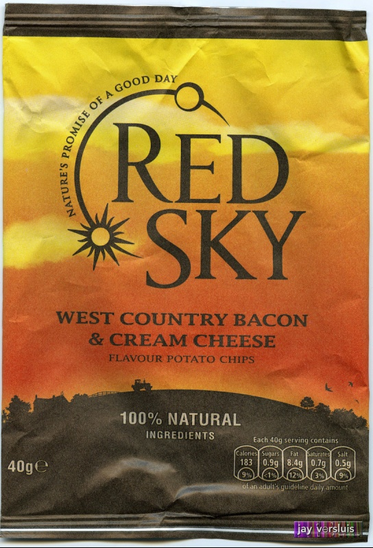 Red Sky - West Country Bacon and Cream Cheese Chips (2009)