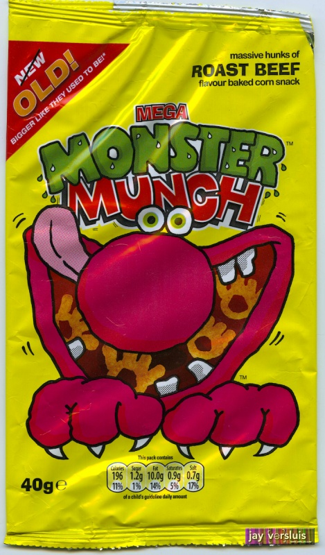 Monster Munch: Roast Beef Flavour (2009)