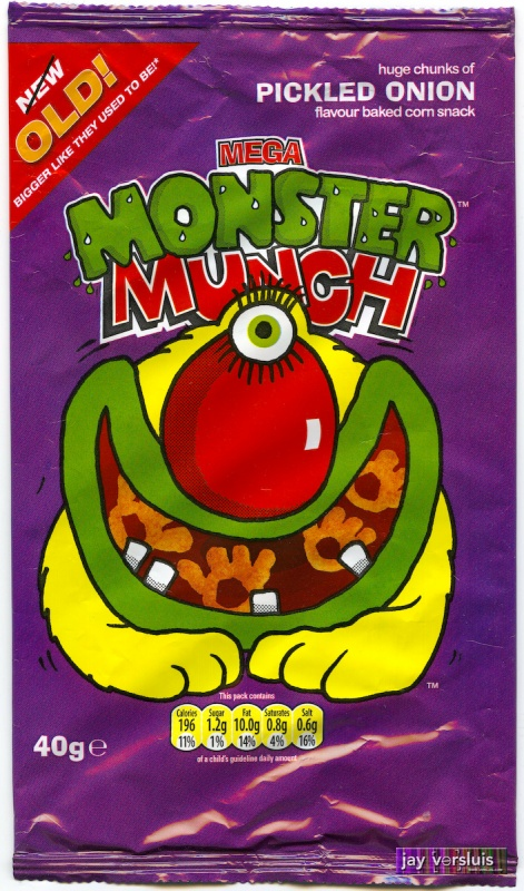Monster Munch: Pickled Onion Flavour (2009)
