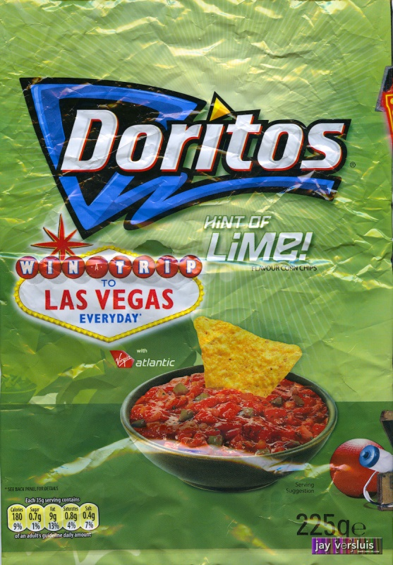 Doritos: Hint of Lime Flavour (2009)
