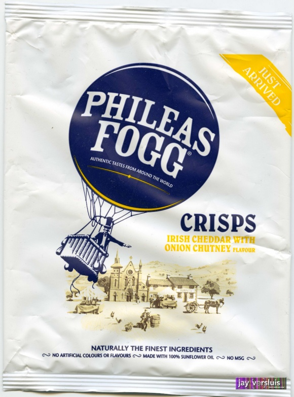 Phileas Fogg: Irish Cheddar with Onion Chutney Flavour (2009)