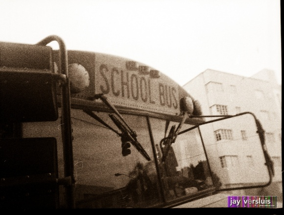 Super Creepy School Bus