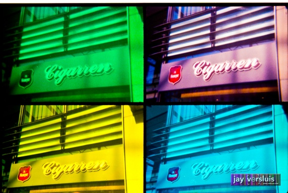 Cigar Store (warholised)