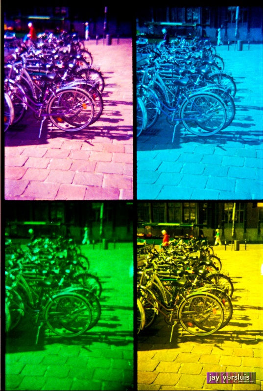 Cycle Congregation (warholised)