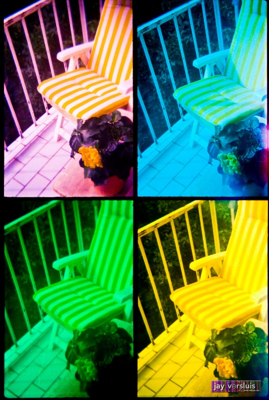 Deck Chair (warholised)