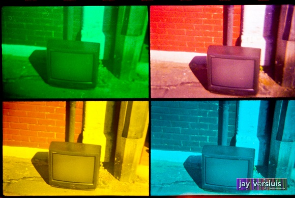 Extreme Outdoor tv (warholised)