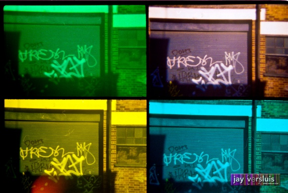 Graffiti Garage (warholised)