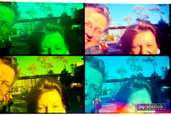 Mum and me (warholised)