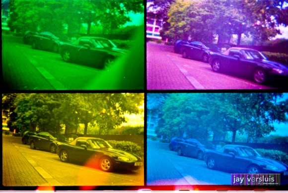Sports Cars (warholised)