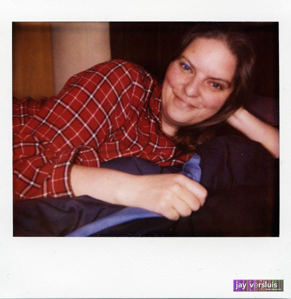 Julia on Original Polaroid 1200