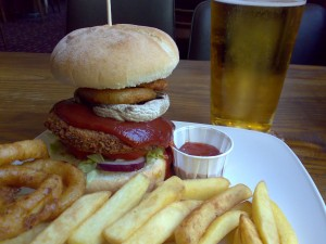 Gourmet Veggie Burger - £6.59 with drink