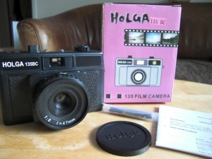 Holga 135BC - what's in the box