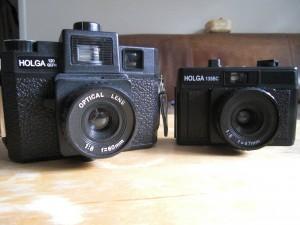 Size Comparison: Holga 120GCFN vs. Holga 135BC