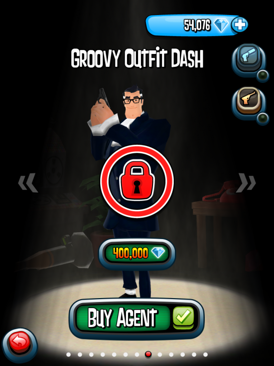 Groovy Outfit Dash with price increase in the old version