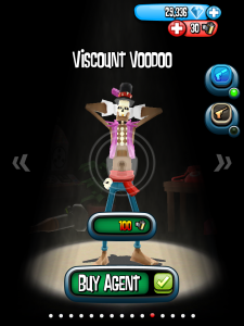 Viscount Voodoo is a new addition to the roster