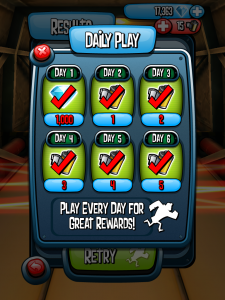 The Daily Play bonus may show up and give you free films