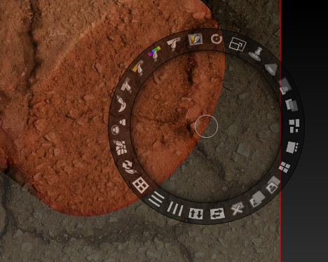 The Spotlight Dial in ZBrush