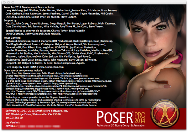 PoserPro2014-Launch