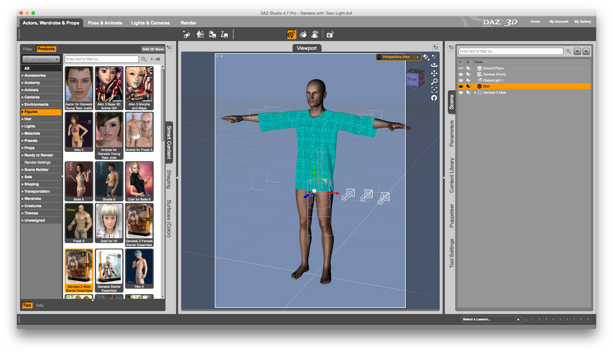 How to turn a 3D object into conforming clothing in DAZ