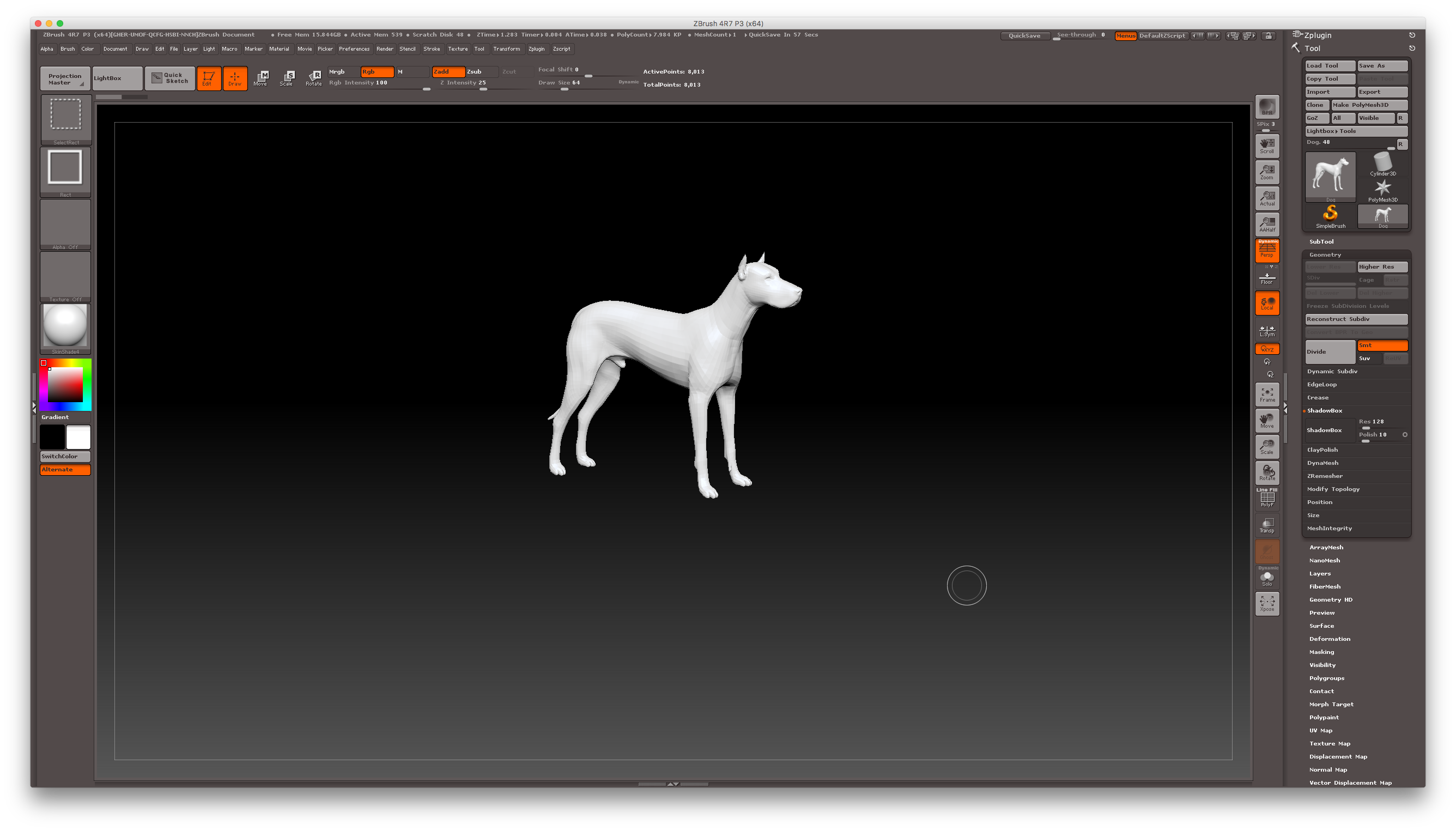 Getting started with ShadowBox in ZBrush | JAY VERSLUIS