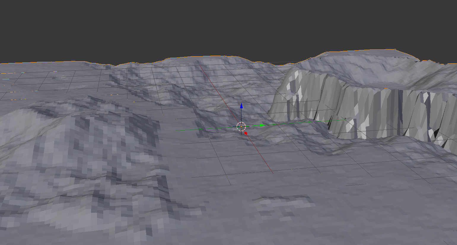 How to generate terrains from heigh maps in Blender   JAY