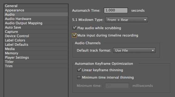 How to mute audio in premiere pro