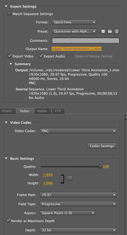 How to render media with Alpha Channel in Premiere Pro | JAY VERSLUIS